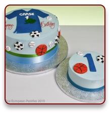 St Birthday Cake - All star birthday cake
