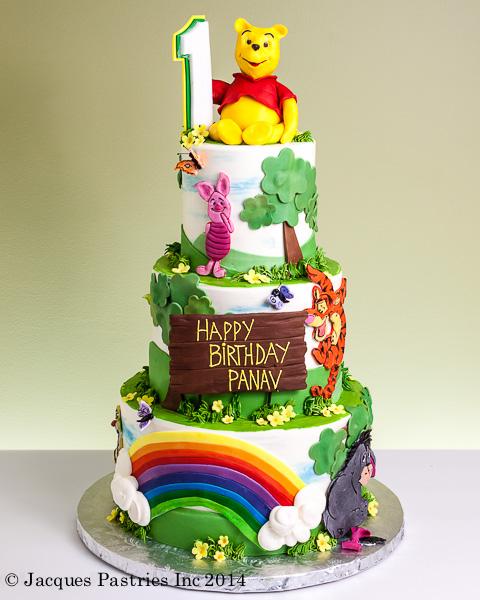 Celebrate With Winnie The Pooh Cake