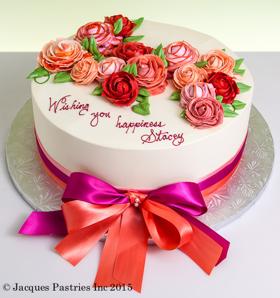 roses of love cake