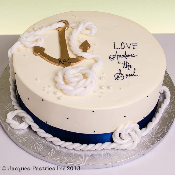 love anchors cake