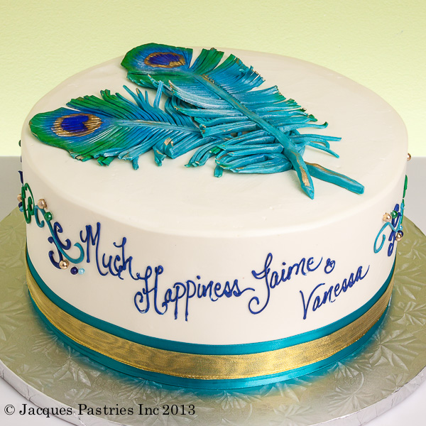 Peacock Birthday Cakes Images