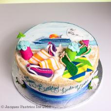 Scenic Cakes - Cruise ship cake