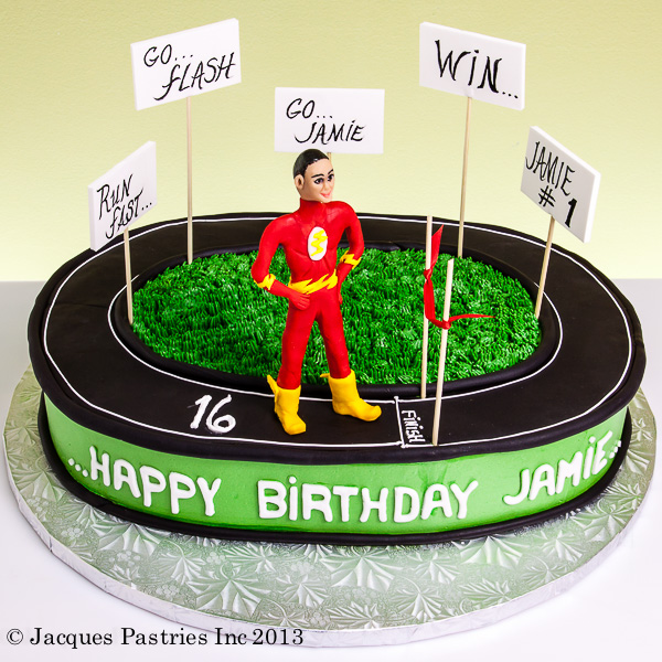Track And Field Cake Ideas