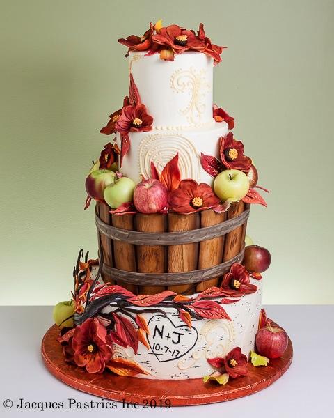 Nesting Birch Cake