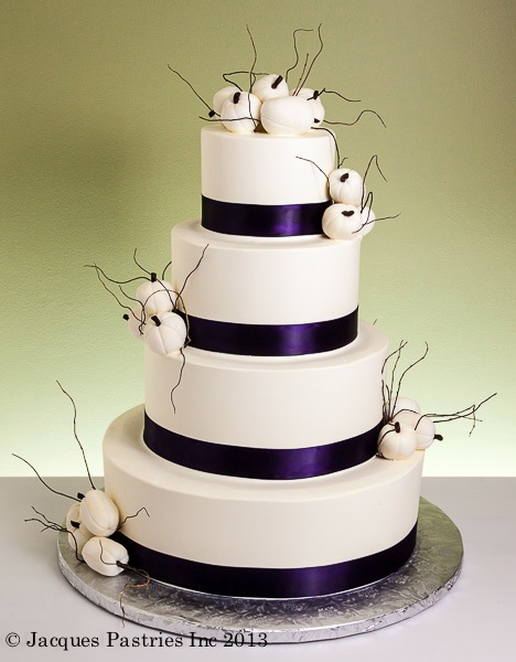 fall wedding cake gallery