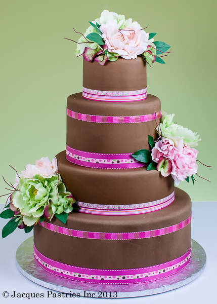 Cakes With Ribbons And Bows