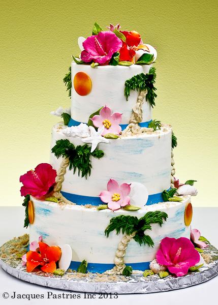 Ocean Side Cake